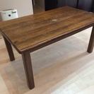 オランダ製 輸入家具 中古テーブルとイス4脚