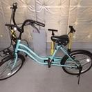 ほぼ未使用の自転車