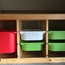 IKEA 子供部屋収納 おかたずけbox おもちゃ箱等に