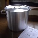 寸胴鍋30cm( 20L )アルミ新品未使用品