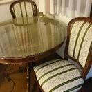 イタリア製テーブルと椅子のセット