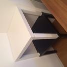 IKEAのテーブル(白)