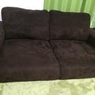 綺麗な2人掛けソファーです!