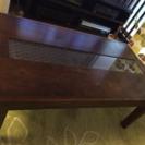 引き出し付きローテーブル