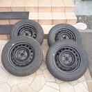 スタッドレスタイヤ(鉄ホイール付) 175/65R15