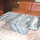 大理石の応接テーブル