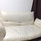 2人掛けソファーベッド(四年使用)