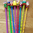 白雪姫と7人の小人鉛筆(8本セット)