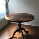 丸テーブル かっこいい アンティーク