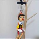 ピノキオの置物 イギリスで購入