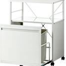 (値段更新)新品・キッチン収納二点セット 分別ゴミ箱+キャスター付...