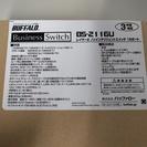 バッファロー スイッチ 16ポート 新品 未使用