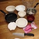 調理器具・食器をお譲りします