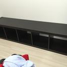 イケア IKEA カラーボックス ブラック 5段