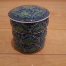 昭和レトロ 3段重ね 陶器 皿 調味料 小鉢 小料理などに