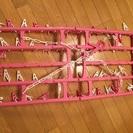 【新品】洗濯用 折りたたみハンガー
