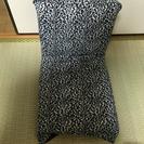 【美品】レオパード柄☆座椅子