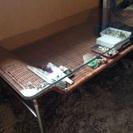 美品 アジアン風ローテーブル