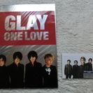 GLAYのポストカードなど