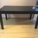 IKEA ダイニングテーブル 黒 ...