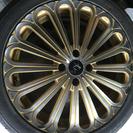 タイヤ-ホイール、大和 ゴールド 4穴