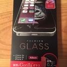 ゴリラガラス iPhone5.5s.SE?用、新品