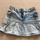 ★女の子 110 デニムスカート