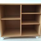 シンプルな棚(幅75cm×高さ64cm×奥行き38cm)