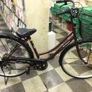 [2906]中古自転車 リサイクル自転車 シティサイクル 27イン...