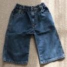 ★男の子女の子 110 デニム膝丈ズボン