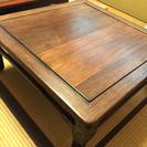 和のテーブル