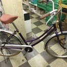 [2952]中古自転車 リサイクル自転車 シティサイクル ママチャ...