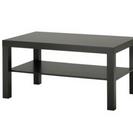 《取引中》IKEA ブラックブラウン テーブル