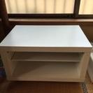 IKEAっぽい白いテレビ台
