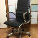 【再値下】男の椅子!上質かっこいい系リクライニングチェア オフィスチェア