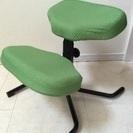 バランスチェア 子供用椅子 グリーン