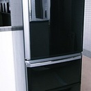 交渉成立:2012年製:【三菱】 3ドア冷凍冷蔵庫370L