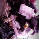 作業机☆テーブル☆折りたたみ椅子付