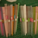 子供用プラお箸♡28セット♡送料無料で送りますよ!