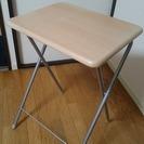 折り畳みテーブル 変色あり