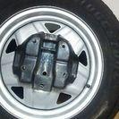 ジムニー  背面タイヤ 175/80R16。