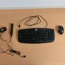 【ロジクール】キーボード&【バッファロー】マウス&【エレコム】USBハブ