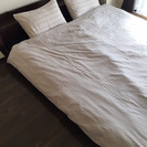 ロータイプクイーンサイズベッド