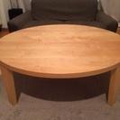 【お取引中】折りたたみ式円テーブル