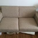 広々2掛けソファー