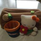キティのテッシュボックス