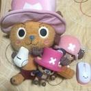 ワンピースのチョッパー人形♪