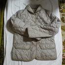 ベージュのキルティングジャケット 美品です。