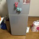 1〜2人用中古冷蔵庫4月中