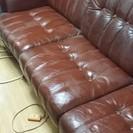 無料!!3人掛けソファ 3つがばらばらになるので2人掛け用にもなります。